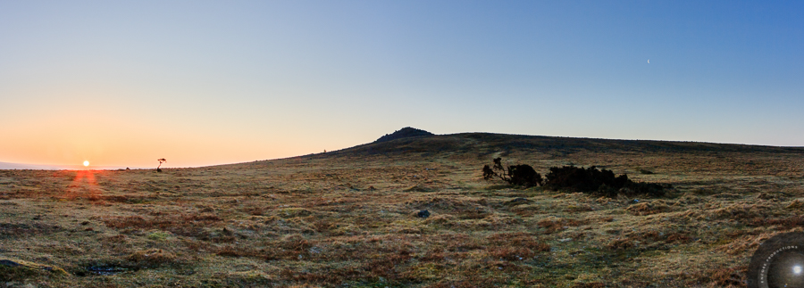 Sunrise, Sharpitor, Dartmoor