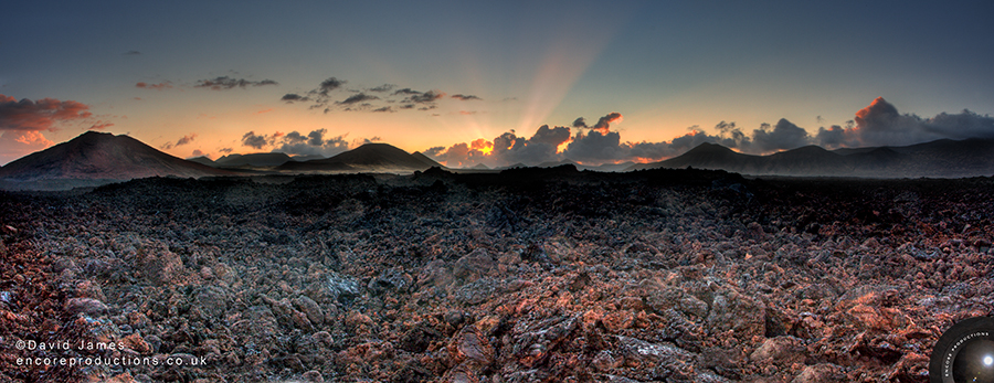 Sunrise, Timanfaya National Park