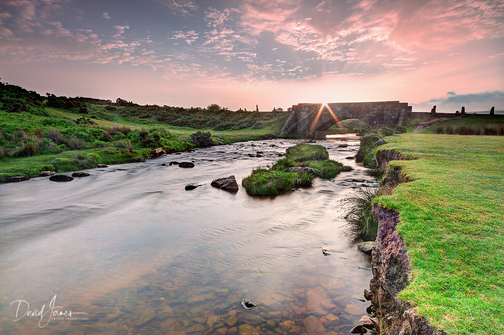 Sunrise, Cadover Bridge, Dartmoor