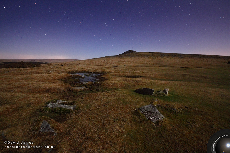 Nightscape, Sharpitor, Dartmoor