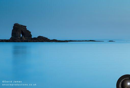 Thurlestone Rock, Thurlestone Beach, Devon