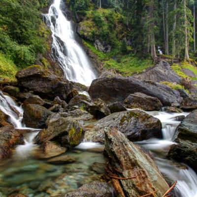 Sintersbacher Waterfalls, Jochberg, Austria