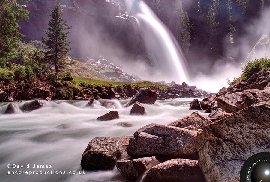 Krimml Waterfalls, Austria