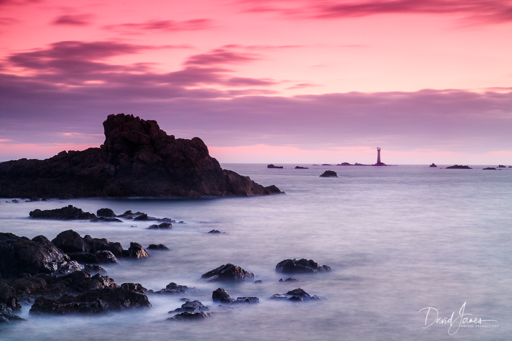 Les Hanois Lighthouse, Guernsey