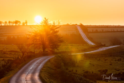Sunrise Dartmoor National Park
