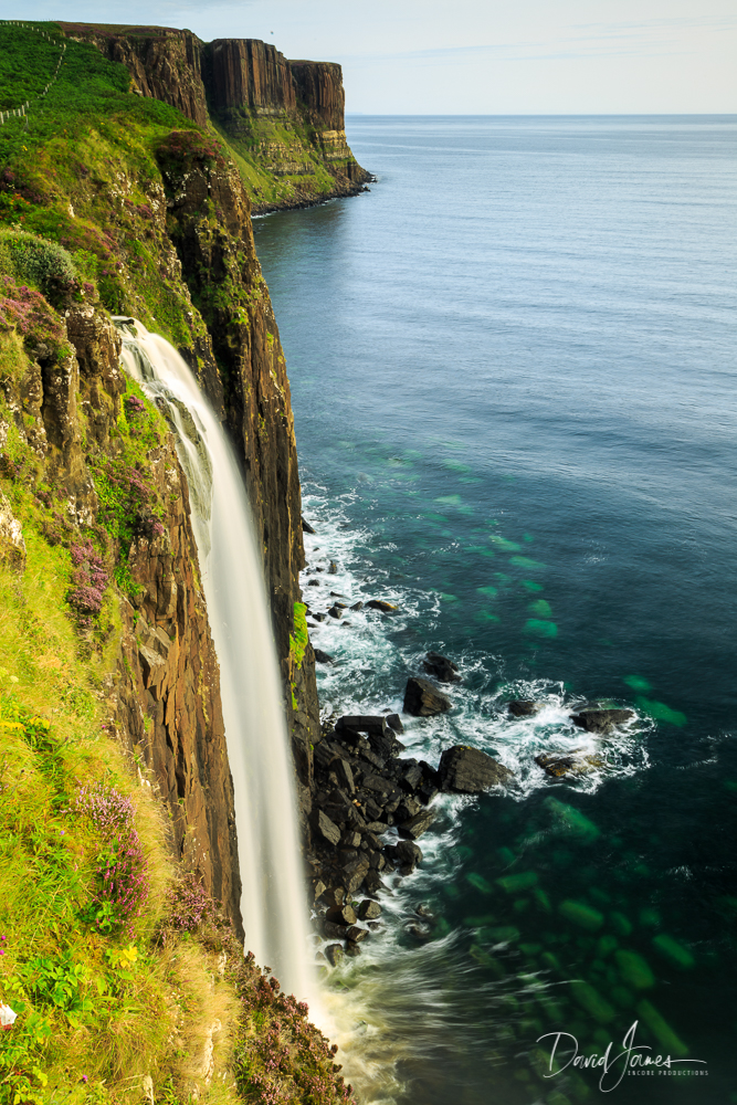 Mealt Falls and Kilt Rock, Isle of Skyle, Scotland