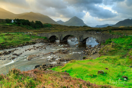 Sligachan Old Bridge, Isle of Skye, Scotland