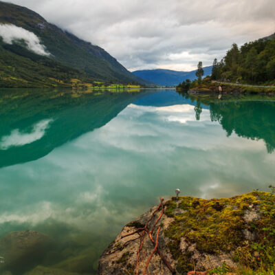 Oldevatnet Lake, Norway