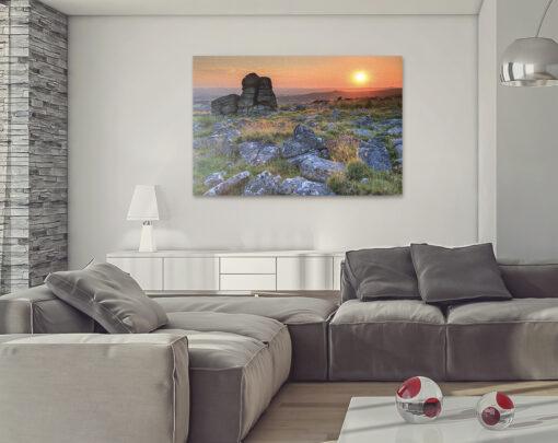 Leeden Tor, Dartmoor