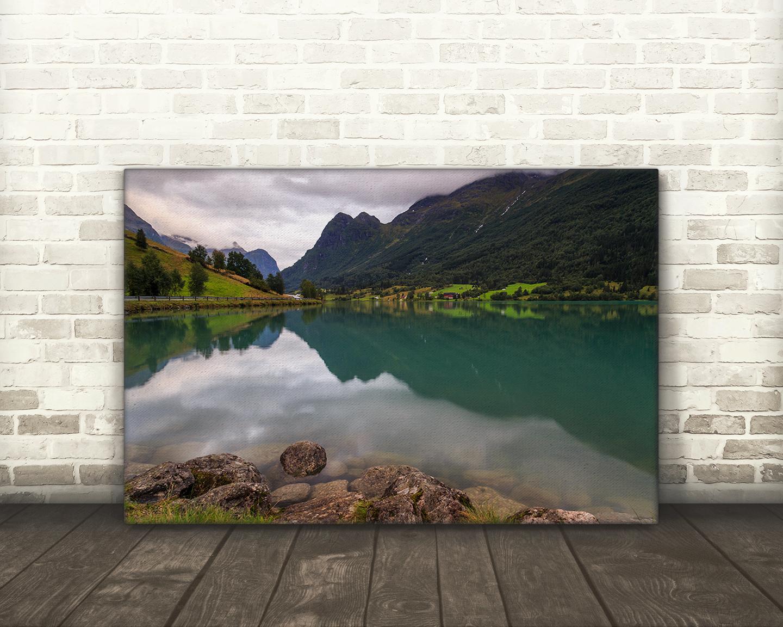 Lake Floen, Olden, Norway