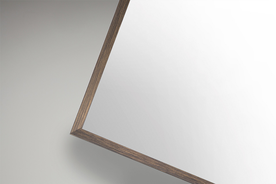 Boxed Frame Moulding - Brushed Bronze