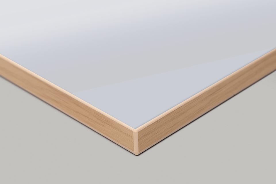 Edge Print - Light Oak Moulding