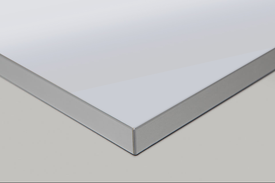 Edge Print - Stainless Moulding