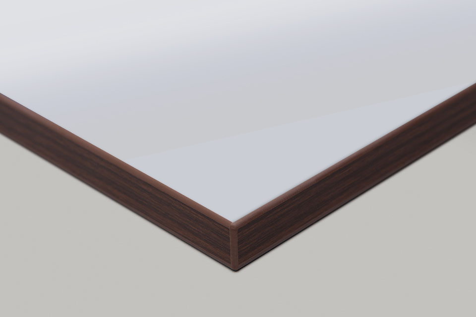Edge Print - Walnut Moulding