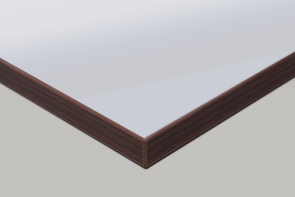Edge Print - Walnut Moulding