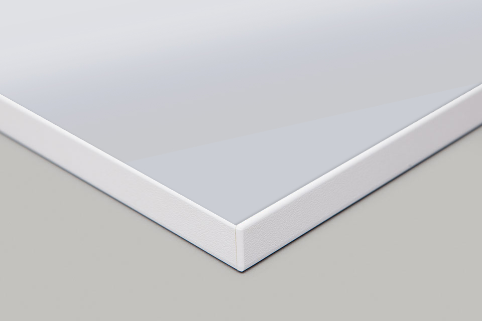 Edge Print - White Moulding